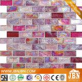 浴室の壁(L824001)のためのガラスモザイクピンクカラー