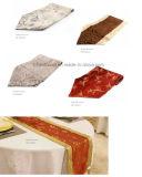 [هند-مد] شريط منسوج طاولة عدّاء زخرفيّة طاولة صخر لوحيّ