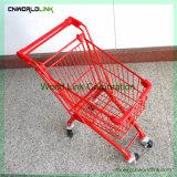 Vier Rad-kleiner Supermarkt-Einkaufswagen-Kind-Karre