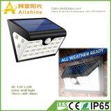 indicatore luminoso solare della parete di 2.5W LED con controllo chiaro ed induzione di PIR