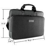 Laptop-Aktenkoffer 15.6 Zoll-Schulter-Kurier-Geschäfts-Hülsen-Kasten-Laptop-Beutel