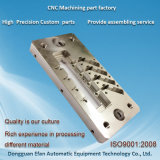 機械高精度CNCのフライス盤の鋼鉄予備品をカスタマイズしなさい