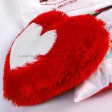 견면 벨벳 심혼 모양 어린 소녀 베개 덮개를 위한 분홍색과 빨간 귀여운 색깔을%s 가진 사랑스러운 승화 베개 상자