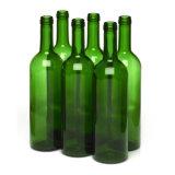 [وين بوتّل] زجاجيّة مع 750 [مل] ظلام - اللون الأخضر, [بوردوإكس] [وين بوتّل]