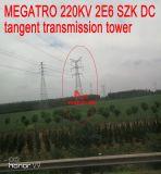 Megatro 220kv 2e6 Szk DC 측면 전송 탑