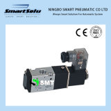 4V 2 elettrovalvola a solenoide di alluminio Port di singolo controllo di posizione 5