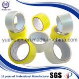 Лента ясности OPP желтого цвета изготовления Китая рынка Кореи