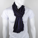 Lenço do cavalheiro luxuoso do lenço de Cashmere&Silk da forma dos homens