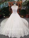 Aoliweiyaのトリムのレースのテュルのウェディングドレス