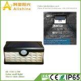 luz solar da parede do diodo emissor de luz do brilho do Três-Lado 2.5W