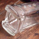 Bebidas espirituosas vazio Vodka garrafa de vinho de vidro