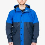 Chaqueta europea del invierno del estilo de los hombres de la chaqueta de la Más-Talla de la capa del Windbreaker de la fábrica de la chaqueta