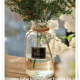 Vase en verre clair Retro/ bocal en verre