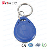 os ABS do controle de acesso 125kHz Waterproof RFID Rewritable Keyfob