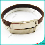 Bruine Leather Bracelet met Buckle voor Man Decoration (LB16041949)