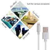 iPhone를 위한 공장에 의하여 공급되는 나일론 땋는 USB 케이블