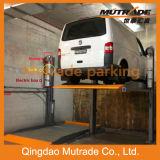 Plataforma dobro avançada que estaciona dois o lote de estacionamento do empilhador do carro do andar do Carport/2 do borne
