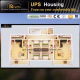 Windows와 문을%s 가진 쉬운 모이는 조립식 집 별장 아파트