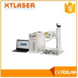 Acier inoxydable Aluminium tag machine de marquage au laser - Xt laser à fibre optique