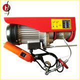 Mini élévateur de câble électrique de petit élévateur électrique de treuil pour le levage