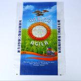 Imprime las bolsas de plástico de polipropileno tejido de 50kg de azúcar en la bolsa de grano de arena