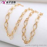De Juwelen van de Halsband van het Gouden Plateren van de manier Man18k (42381)