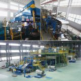 ASTM 304 N˚ 1 2b corte longitudinal de chapas de aço inoxidável de Borda