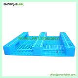 Depósito de plástico 4 rack de entrada Euro palete deslizantes para armazenamento de paletes Palete Palete deslizantes, paletes de HDPE