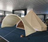 Het Kamperen van de familie de Openlucht Waterdichte Tent Dia 3m van de Klok Kleine Tent