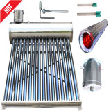 Calefator de água solar Non-Pressurized do aço inoxidável