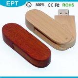 Tipo di interfaccia del USB 2.0 azionamento di legno dell'istantaneo del USB di marchio dell'incisione per il campione libero