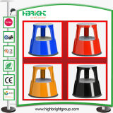 Différentes couleurs Warehouse Heavy Duty Steel Mobile Kick Stool