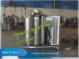réservoir vertical de refroidissement du lait de refroidisseur du lait 1t (copeland 3HP)