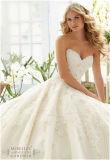 Reizvolles Heiß-Verkaufenbüstenhalter-Braut-Hochzeits-Kleid, angepasst