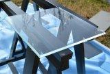 8mm 10mm 12mm Extrawhite Ultra Clear sin cerco templado con agujeros y ducha de vidrio de la puerta de bisagra