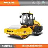Fabricant officiel Shantui 22t mécanique rouleau vibratoire Single-Drum Road (SR22MPa)
