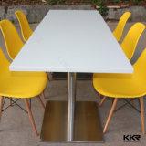 Tabela de jantar de superfície contínua quadrada de 4 Seaters para o restaurante Chain (171103)