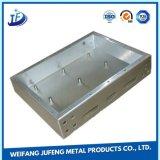 Metallo d'acciaio placcato zinco di precisione che timbra parte