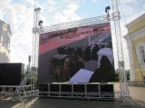 Indoor / Outdoor P5 Full Color Rental Advertising LED Sign com placa 640X640mm