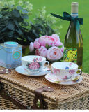 Cerâmica chá da tarde inglês bone china