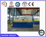 QC11Y-16X2500 유압 단두대 깎는 기계, 강철 플레이트 절단기