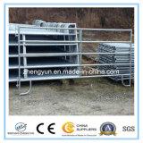 USA galvanisiertes verwendetes Viehbestand-Panel des Stahl-12foot lang/Pferden-Hürde-Panel