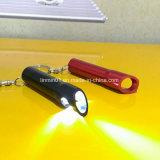 승진 선물을%s Keychain를 가진 주문 알루미늄 3 LEDs 플래쉬 등
