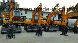 Excavadores de la rueda para el cargador de madera de /Sugarcane