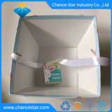 Trapèze Boîte en carton de papier personnalisé avec poignée