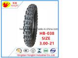 Neumático de moto de alta calidad de 3.00-21