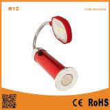 Beleuchtet im Freienarbeit B12 Metalschlauch-Anzeigen-Schreibtisch-Lampe