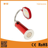 B12 Luces de trabajo al aire libre Metal Hose Reading Desk Lamp