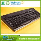Acrílico transparente y robusto soporte de teclado en ángulo