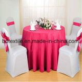 Commerce de gros Round Table 100 % polyester Tissu pour hôtel et de mariage